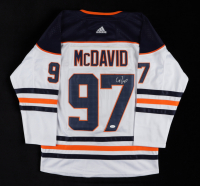 Connor McDavid Signed Oilers Captain's Jersey (JSA LOA) at PristineAuction.com