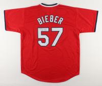 Shane Bieber Signed Jersey (JSA Hologram) at PristineAuction.com