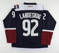 Gabriel Landeskog Signed Avalanche Captain's Jersey (JSA COA) at PristineAuction.com