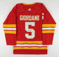 Mark Giordano Signed Flames Jersey (JSA COA) at PristineAuction.com