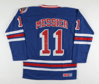 Mark Messier Signed Rangers Captain's Jersey (Steiner Hologram) at PristineAuction.com