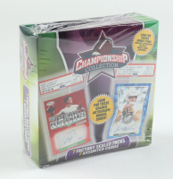 2021 Championship Collection Football Mega Box with (7) Packs (See Description) at PristineAuction.com