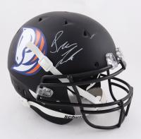Drew Lock Signed Full-Size Matte Black Helmet (Beckett Hologram) (See Description) at PristineAuction.com