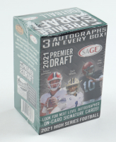 2021 Sage Hit High Series Football Blaster Box With (63) Cards (See Description) at PristineAuction.com