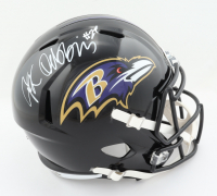 J.K. Dobbins Signed Ravens Full-Size Speed Helmet (JSA COA) at PristineAuction.com
