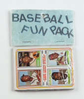 1974 Topps Baseball Fun Rack Pack with (10) Cards at PristineAuction.com