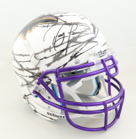 Ray Lewis Signed Full-Size Authentic On-Field Hydro-Dipped Helmet (Beckett Hologram) at PristineAuction.com