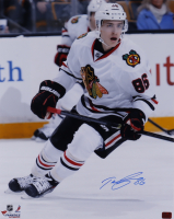 Teuvo Teravainen Signed Blackhawks 16x20 Photo (Teravainen COA) at PristineAuction.com