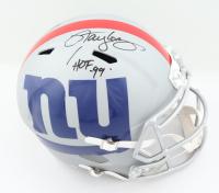 "Lawrence Taylor Signed Giants Full-Size AMP Alternate Speed Helmet Inscribed ""HOF 99"" (JSA COA) at PristineAuction.com"