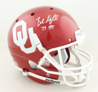 """Baker Mayfield Signed Oklahoma Sooners Full-Size Helmet Inscribed """"'17 HT"""" (Beckett COA) at PristineAuction.com"""