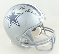 Roger Staubach Signed Cowboys Full-Size Helmet (Beckett COA) at PristineAuction.com