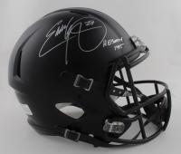 "Eddie George Signed Ohio State Buckeyes Full-Size Matte Black Speed Helmet Inscribed ""Heisman 1995"" (JSA COA) at PristineAuction.com"