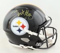 T.J. Watt Signed Steelers Full-Size Authentic On-Field Speed Helmet (JSA COA) at PristineAuction.com