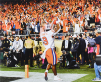 """Travis Etienne Signed Clemson Tigers 16x20 Photo Inscribed """"CFP Champs!"""" (Beckett COA) (See Description) at PristineAuction.com"""