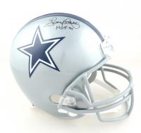 "Tony Dorsett Signed Cowboys Full-Size Helmet Inscribed ""HOF 94"" (JSA COA) at PristineAuction.com"
