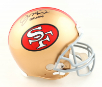 """Joe Montana Signed 49ers Full-Size Authentic On-Field Helmet Inscribed """"HOF 2000"""" (Beckett COA) at PristineAuction.com"""