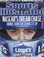 Jimmie Johnson Signed NASCAR 11x14 Photo (PSA COA) at PristineAuction.com