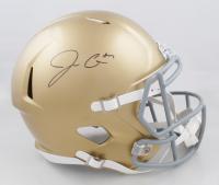 Jack Coan Signed Notre Dame Fighting Irish Full-Size Speed Helmet (JSA COA) (See Description) at PristineAuction.com