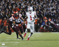 """Braxton Miller Signed Ohio State Buckeyes 16x20 Photo Inscribed """"Spin Move"""" & """"Go Bucks"""" (JSA COA) (See Description) at PristineAuction.com"""