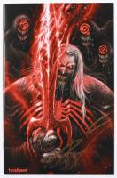 "Tyler Kirkham Signed 2020 ""Venom"" Issue #28 Marvel Comic Book (Unknown Comics COA) at PristineAuction.com"