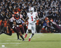 """Braxton Miller Signed Ohio State Buckeyes 16x20 Photo Inscribed """"Spin Move!"""" & """"Go Bucks!"""" (JSA COA) (See Description) at PristineAuction.com"""