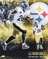 Le'Veon Bell Signed Steelers 16x20 Photo (JSA COA) at PristineAuction.com
