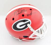 "Herschel Walker Signed Georgia Bulldogs Full-Size Helmet Inscribed ""82 Heisman"" (Beckett COA) (See Description) at PristineAuction.com"