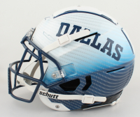 Jay Novacek Signed Full-Size Authentic On-Field Hydro Dipped F7 Helmet (Beckett COA) at PristineAuction.com