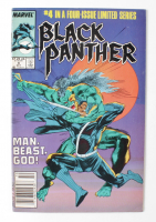 """1988 """"Black Panther"""" Issue #4 Marvel Comic Book (See Description) at PristineAuction.com"""
