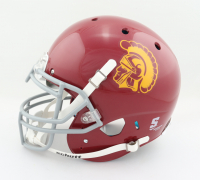 """O. J. Simpson Signed USC Trojans Full-Size Authentic On-Field Helmet Inscribed """"Heisman 68"""" & """"National Champs 67"""" (JSA COA) at PristineAuction.com"""
