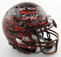 """Baker Mayfield Signed Full-Size Authentic On-Field Hydro-Dipped Helmet Inscribed """"Dawg Pound"""" (Beckett COA) at PristineAuction.com"""