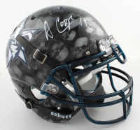 Amari Cooper Signed Full-Size Authentic On-Field Hydro-Dipped Helmet (Beckett COA) (See Description) at PristineAuction.com