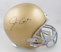 Jack Coan Signed Notre Dame Fighting Irish Full-Size Helmet (JSA COA) (See Description) at PristineAuction.com