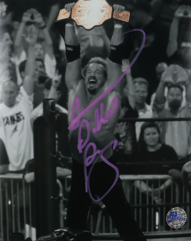Diamond Dallas Page Signed 8x10 Photo (Pro Player Hologram) at PristineAuction.com