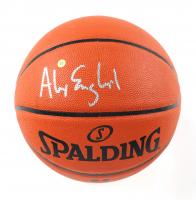 Alex English Signed NBA Silver Series Basketball (JSA COA) at PristineAuction.com