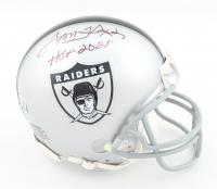 "Tom Flores Signed Raiders Throwback Mini Helmet Inscribed ""HOF 2021"" (Beckett Hologram) at PristineAuction.com"
