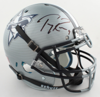 Tony Romo Signed Full-Size Authentic On-Field Hydro-Dipped Helmet (Beckett COA) (See Description) at PristineAuction.com