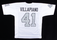 Phil Villapiano Signed Jersey (Pro Player Hologram) at PristineAuction.com