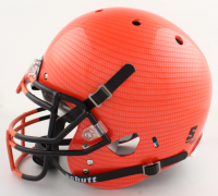 Nick Chubb Signed Full-Size Authentic On-Field Hydro-Dipped Helmet (Beckett COA) (See Description) at PristineAuction.com