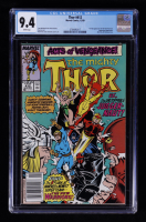 "1989 ""Thor"" Issue #412 Marvel Comic Book (CGC 9.4) at PristineAuction.com"