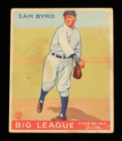 Sam Byrd 1933 Goudey #157 RC at PristineAuction.com