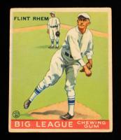 Flint Rhem 1933 Goudey #136 RC at PristineAuction.com