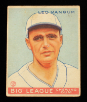 Leo Mangum 1933 Goudey #162 RC at PristineAuction.com