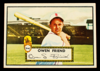 Owen Friend 1952 Topps #160 (Trimmed) at PristineAuction.com