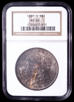 1881-S Morgan Silver Dollar (NGC MS64) (Toned) at PristineAuction.com