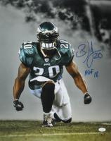"""Brian Dawkins Signed Eagles 16x20 Photo Inscribed """"HOF 18"""" (JSA Hologram) at PristineAuction.com"""