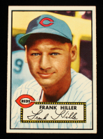 Frank Hiller 1952 Topps #156 RC at PristineAuction.com