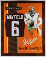 Baker Mayfield Signed 35.5x43.5 Custom Framed Jersey (Beckett Hologram) (See Description) at PristineAuction.com