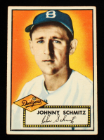 Johnny Schmitz 1952 Topps #136 at PristineAuction.com