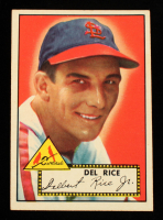 Del Rice 1952 Topps #100 at PristineAuction.com